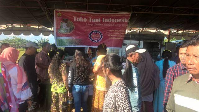 Beras TTI selalu diminati oleh masyarakat pd pasar rakyat seperti di Kelurahan Karangpule